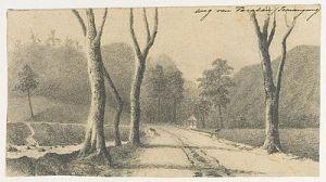 Weg van Parakan-Temangoeng1884